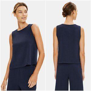 🆕 Eileen Fisher | Organic Cotton Stretch Shell